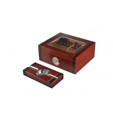 Humidor Home #8 REALLY SUPREME SET + ASHTRAY 50 Cigars ROSEWOOD Model # IGO REALLY SUPREME