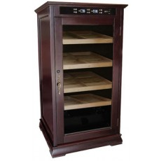 "Redford ELECTRIC ELECTRONIC Humidor - Controls TEMPERATURE & HUMIDITY 26""W x 52.75""H x 26""D  Item# RMGTN (Up to 1250 Cigars)"