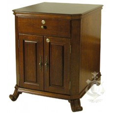 MONTE CARLO (Montegue) End Table Humidor - Up to 1500 Cigars - 24W x 26D x 30H