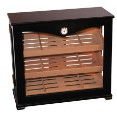 Model #500W Humidor - 26W x 20H x 11.5D - Holds 250 Loose Cigars
