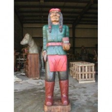 TONTO Wooden Cigar Indian 70""