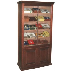 "REGAL SUPREME 36"" MINI Cigar Humidor Raised Panel Doors 36 x 72 x 16.75"