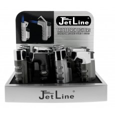 Jet Line COMBO MIXED STYLES TRIPLE Torch Lighters - Style  # COMBO     Model #47-560-12