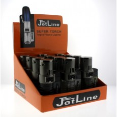 Jet Line SUPER TORCH - Triple Torch - TRAY of 12 - Style  #SUPER TORCH Model #47-600