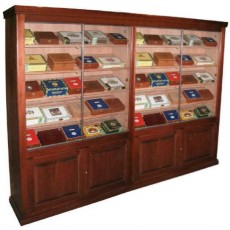 REGAL SUPREME with Raised Panel Doors Cigar Humidor 7' x 10' x 20 INCH DEEP -  MORE CIGARS