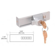 LOCK & KEYS for GLASS SLIDING DOORS Only