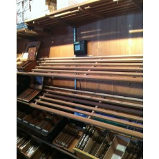 Walk-In Humidor SLOTTED Shelves Spanish Cedar Humidor Wooden Cigar Large Cabinets Custom Commercial - Made entirely with Real Spanish Cedar