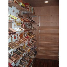 Walk-In Humidor DO-IT-YOURSELF-KIT  - Made entirely with Real Spanish Cedar