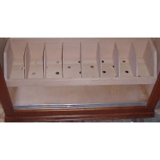 Cedar BIN SHELF - Organize all your Loose Cigars