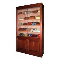 REGAL SUPREME Humidor RAISED PANEL Doors 4' x 7' x 16.75""