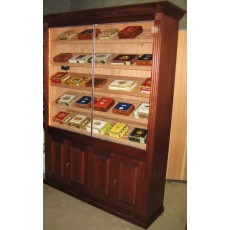 REGAL SUPREME Humidor RAISED PANEL Doors 5' x 7' x 16.75""